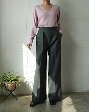 YSL - rive gauche wool pants