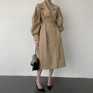 long trench coat 2color