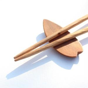 くるり箸 チェリー20cm(幼児期をすぎたお子様や、手の小さな女性に)