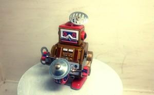 ブリキのロボット(1点のみ)