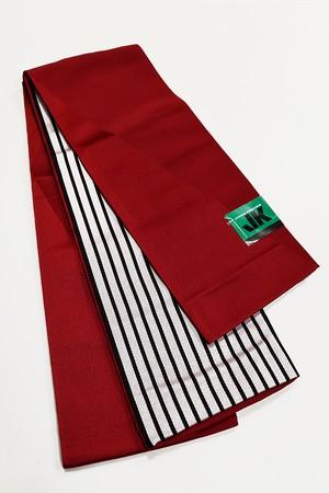 JUNKO KOSHINOリバーボーダー小袋帯 レディース ポリエステル100% レッド 半巾帯