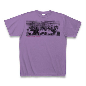 Journey×Journey 26Letters T-shirts from Ethiopia2/Light purple
