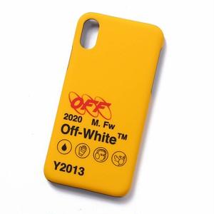 OFF-WHITE(オフホワイト) INDUSTRIAL Y013 iPhone X C YELLOW BLACK iPhoneXケース ロゴプリント アイフォン10R CASE カバー イエロー ロゴ スマホケース アイフォンケース [全国送料無料]r014817