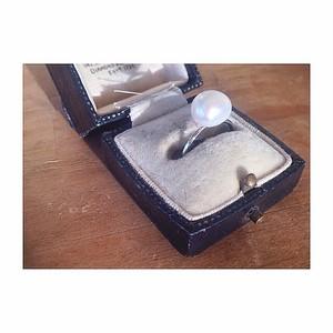《sale》K10WG/baroque*pearl_ring