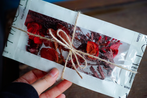 Xmas dried & preserved flower pac 【RED】