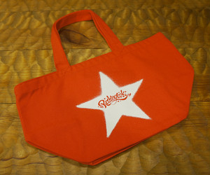 STENCIL STAR Mini Tote Bag Red