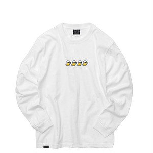 EAZYMISS x HIGH SOX collaboration Long sleeve WHITE L