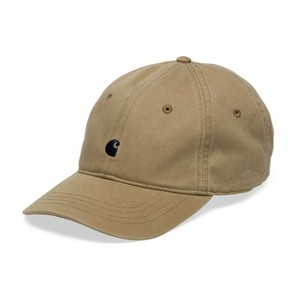 carhartt / MADISON LOGO CAP - Leather / Navy