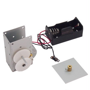 KM-13 ギアードモーター 単一乾電池用電池BOX付