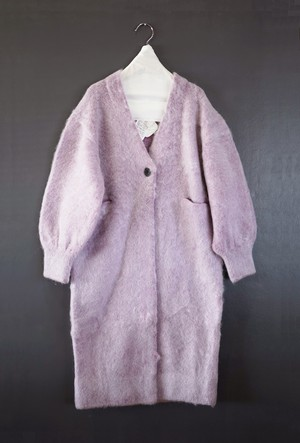 hakuji - mohair knit coat