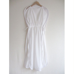 piping see-throgh onepiece/white