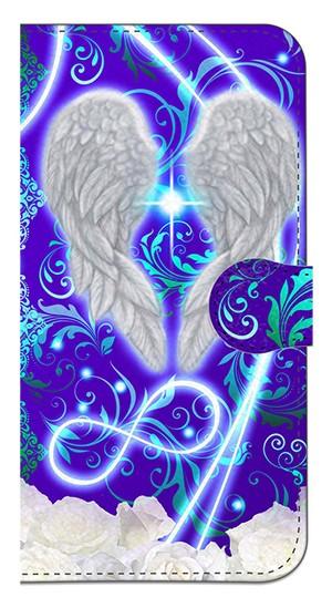 【iPhoneX】 Angel Wings エンジェル・ウィングズ 手帳型スマホケース