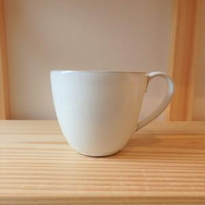 藤山窯  マグカップ ミルクプレーン