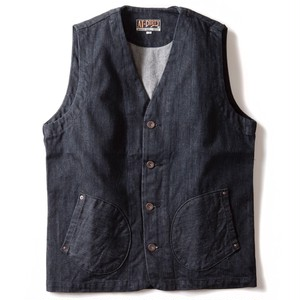 AT-DIRTY(アットダーティー)/WORKERS VEST (DENIM)