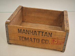 品番WB-005 木箱 / Wooden Box(MANHATTAN TOMATO CO.)