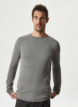 COTTON PIQUE WASHED T-SHIRT