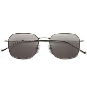 BOSTON CLUB ボストンクラブ / BRIAN Sun / 01 Silver - Gray Lenses シルバー-グレーレンズ スクエアウェリントンサングラス