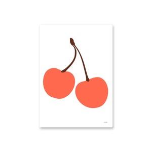 OMM design Sweden OMM Gallery Cherry poster 50×70cm ポスター 北欧 スウェーデン チェリー さくらんぼ