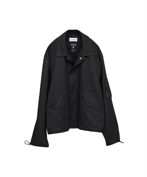 RYO TAKASHIMA × BEST PACKING STORE VENTILE FLIGHT JACKET Black