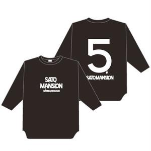 七分袖Tシャツ【黒】