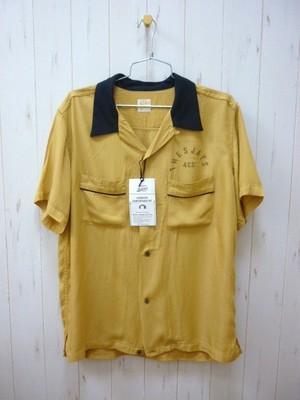 """BARNS Bowling Shirt """"Highland Park Bowl"""" BR-7524 (バーンズ ボーリングシャツ/ハイランドパークボール)"""