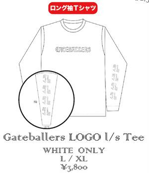 [L/S T-shirts]Gateballers『LOGO Tee』