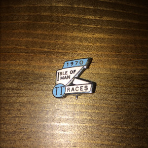 "70's ""T T RACES"" Pins"