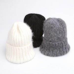 アンゴラニット帽 / 全3色
