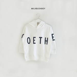 KIDS HOODED SWEAT 【GOETHE】