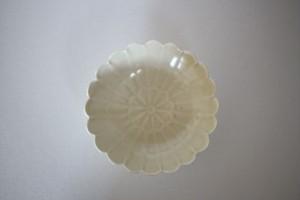 前田麻美|黄磁4寸菊鉢