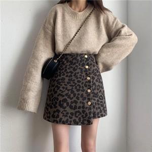 【お取り寄せ商品♡】レオパードラップスカート day064