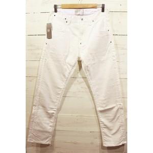 TOKYO SHOCK BOYS Tapered Denim Pants WHITE