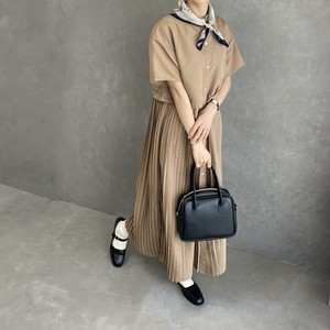 short sleeve trench one-piece