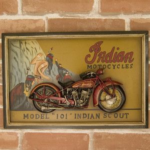 【 ANTIQUE BOARD 】 アンティークボード (INDIAN MODEL 101)