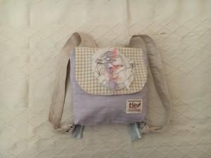 hagire asobi 2way bag (lavender)