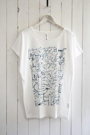 カモメビッグTシャツ ホワイト