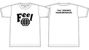 【ホワイト】Feel記念Tシャツ