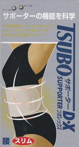 【Tsubo Supporter】腰スリムサポーター