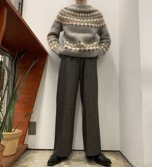 nordic knit sweater 【M位】