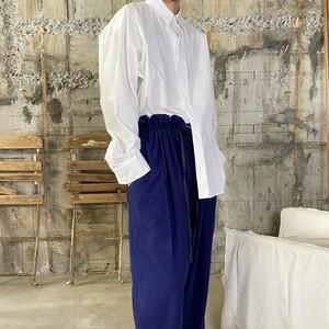 Dessin de Mode【デッサン ド モード】オーバーサイズシャツ |5DSH-01  (WHITE SIZE:2).