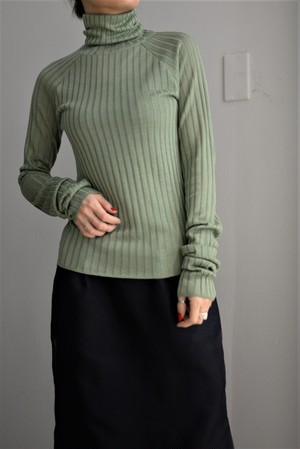 ROOM211 / Wide Rib Tutle Knit (3color)