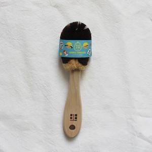 ご予約販売8月1日以降の発送 北山正積商店の職人さん手作りの 靴洗いブラシ