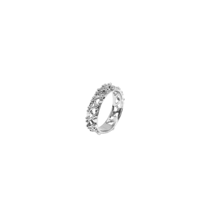 LITTLE BEAM RING SILVER
