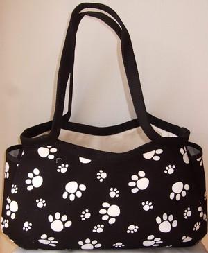 Nancyおばさんの手作りバッグ 【パウ 黒】