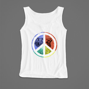 WorldPeace Tank / XL-XXL / White