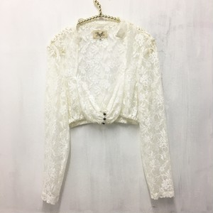 lace short top bolero