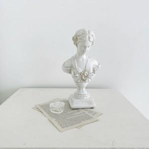 vintage plaster object / ヴィンテージ アンティーク調 オブジェ 女性 石膏像 韓国 北欧 雑貨
