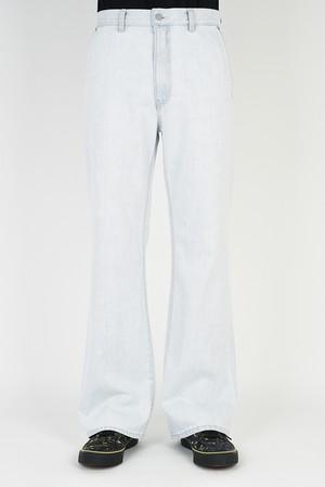 在庫あり MUSICIAN【ラッドミュージシャン】SLIM FLARE PANTS (21210-513 INDIGO BLEACH )