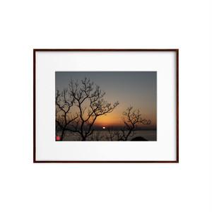落日(ホワイトボード)A4サイズ
