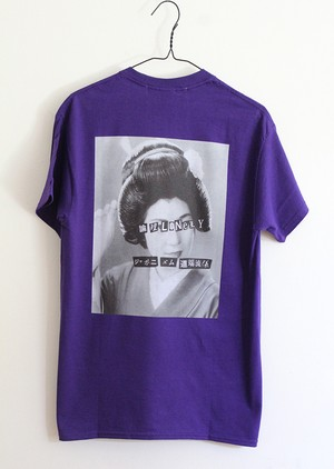 "LONELY論理#10 ""ANARCHY IN THE JAPANESE MAIKO"" T-SHIRTS"